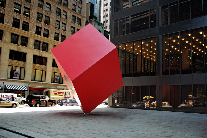 new-york-cube-rouge